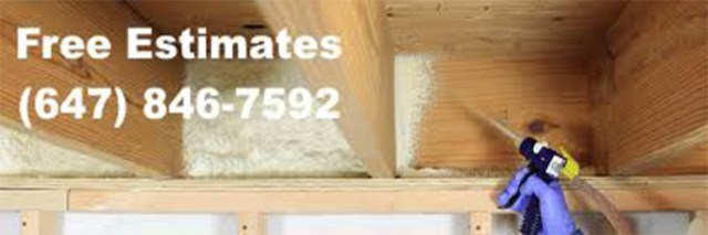 Reliable foam insulation service in Mississauga