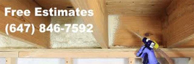 Reliable spray foam insulation in Etobicoke