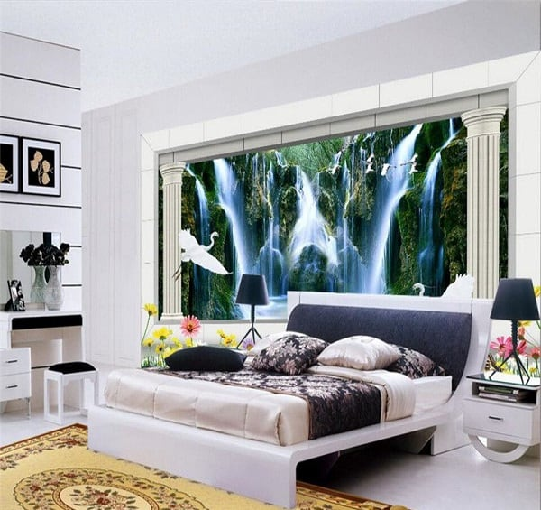 15 Magnificent 3d Wall Painting For Your Bedroom Photos