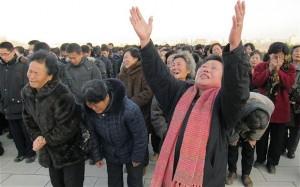Spontano okupljanje na ulicama Pjongjanga nakon vijesti o smrti Ibrahim paše