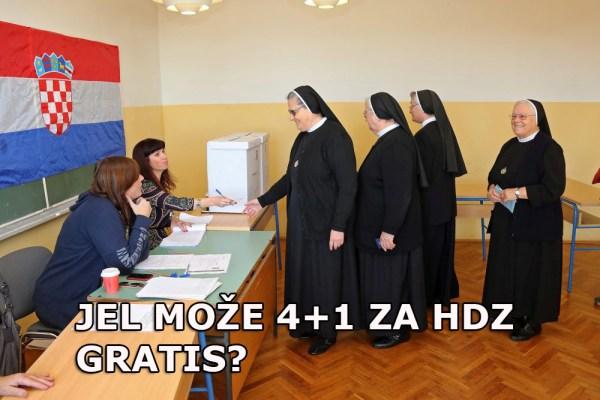 Dubrovnik, 08.11.2015 - Gradjani glasaju na parlamentarnim izborima za osmi saziv Hrvatskog sabora