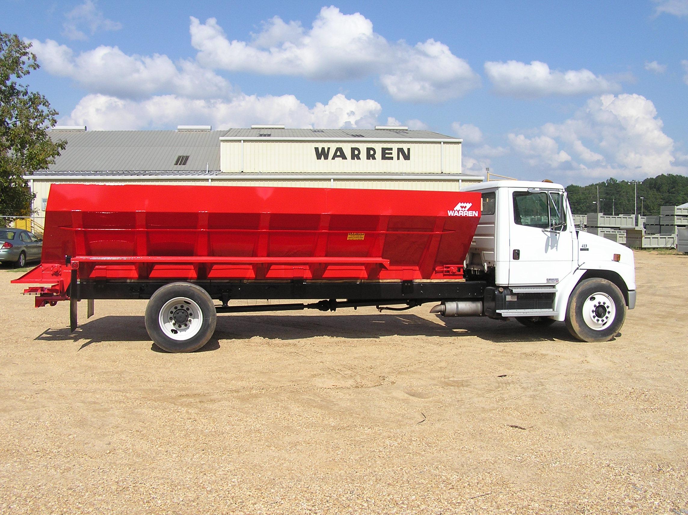 Truck Mounted Fertilizer Spreaders Lime