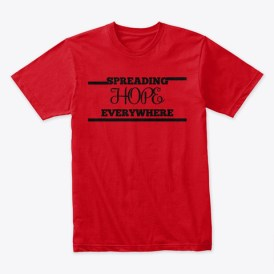 Red premium tee from We R S.H.E.Talks