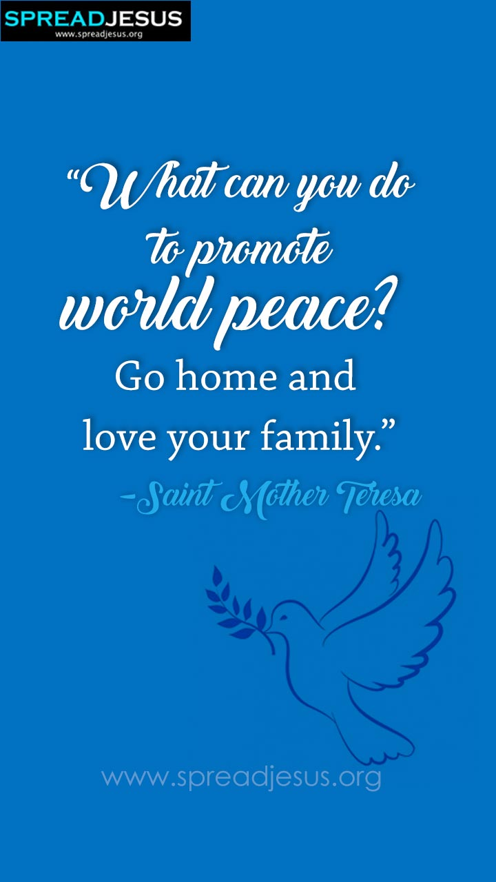 Peace Hd Wallpapers Free Download Inspirational And Good Catholic Saints Quotations Good