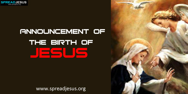 Announcement Of The Birth Of Jesusthe Angel Gabriel Was