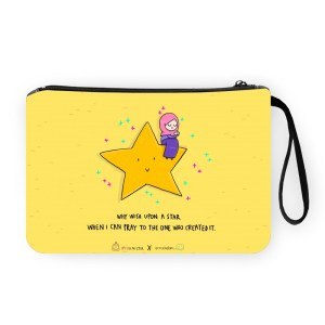 Why Wish upon a Star Pouch Bag
