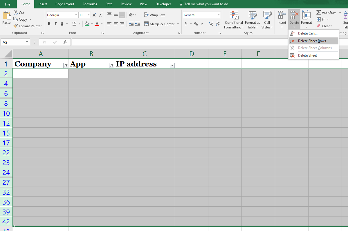How To Delete Blank Rows In Excel The Right Way New