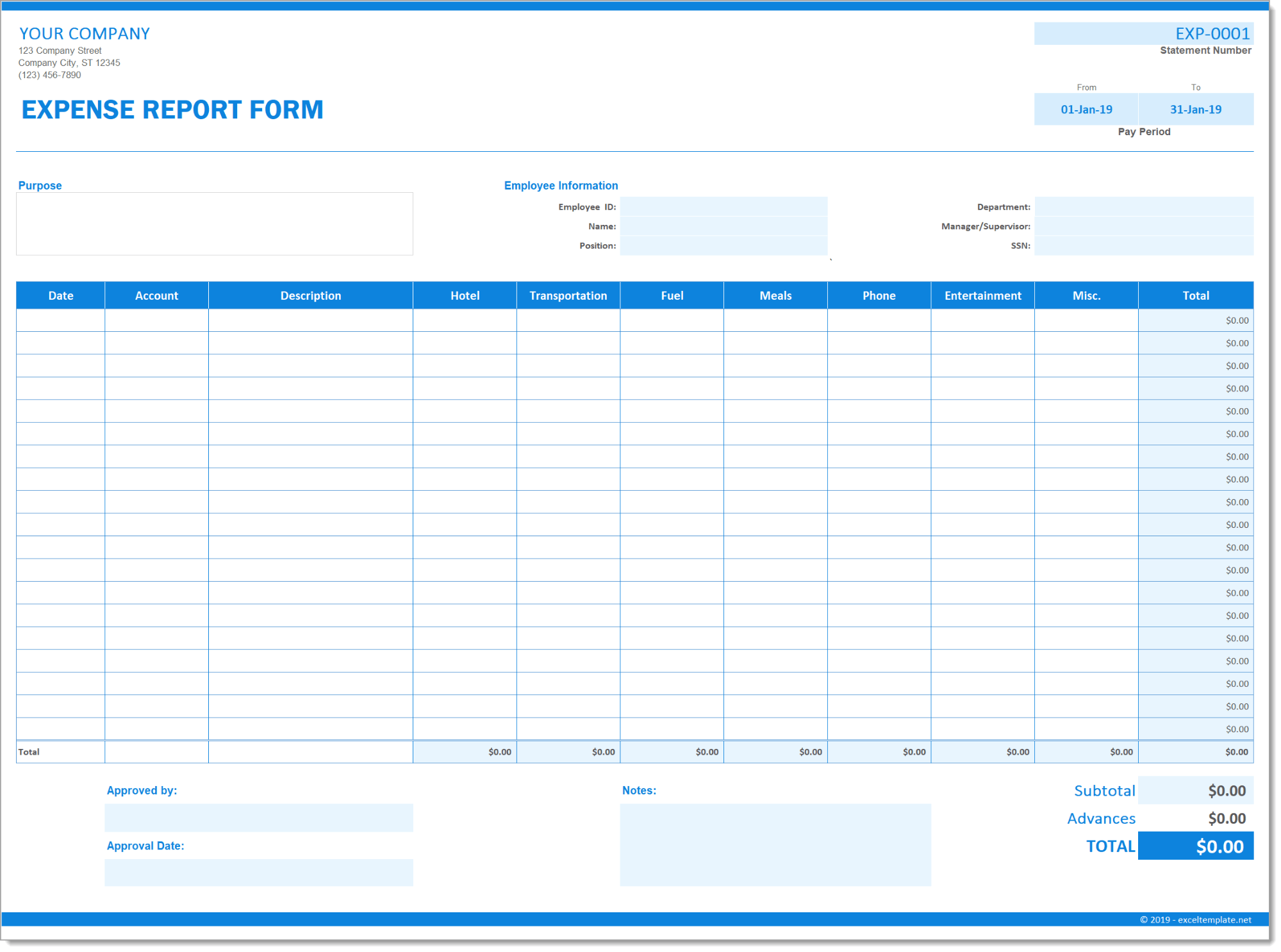 28/11/2016·  download business expense reimbursement form. Expense Report Form The Spreadsheet Page