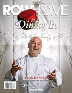 Spread the Whiz featured in Rowhome magazine