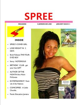 SPREE MAGAZ COVER FLYER