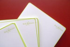 Briefbogen für Bodo Hoffmann GmbH