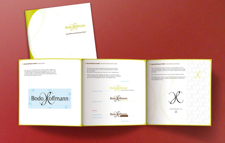 Entwicklung Corporate Design Manual