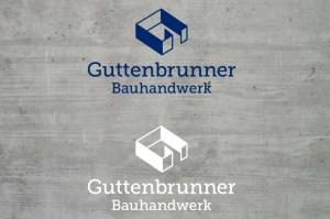 Logo, Corporate Design für Guttenbrunner Bauhandwerk