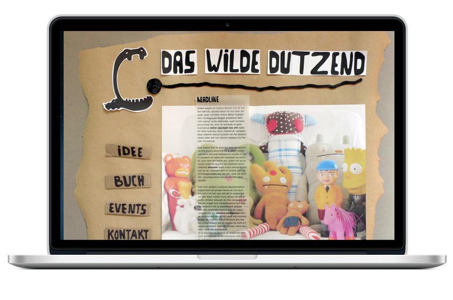 Das wilde Dutzend, Verlag Webseite