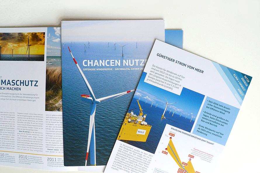 Informations Broschüre Gestaltung