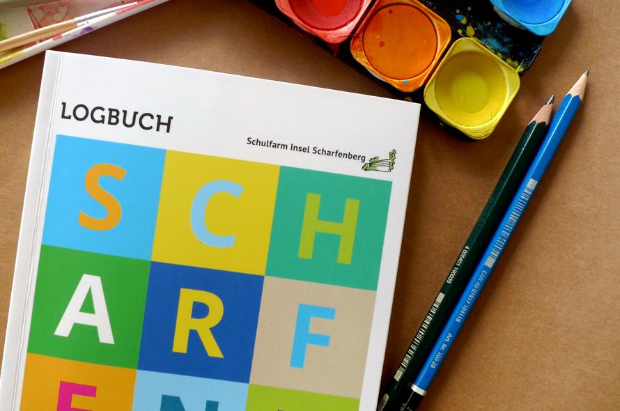 gestaltung Schülerkalender, Schulfarm Scharfenberg, Cover