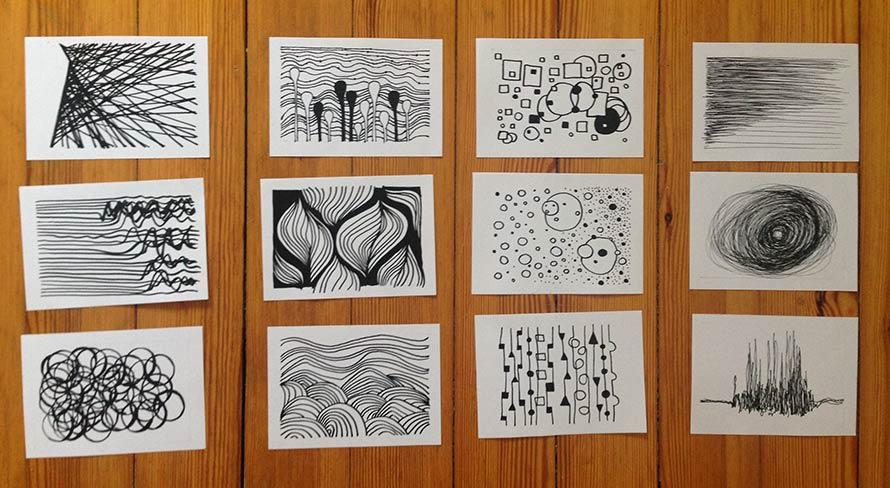 Zeichnungen für den Kalender 2018, Side Project
