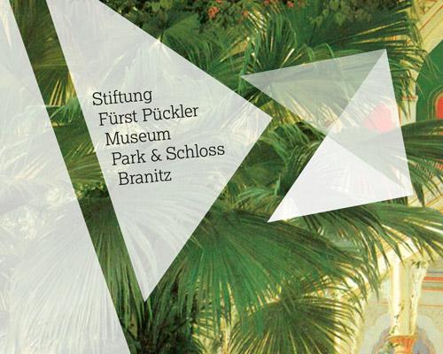 Redesign Pitch Fürst Pückler Corporate Design Flyer