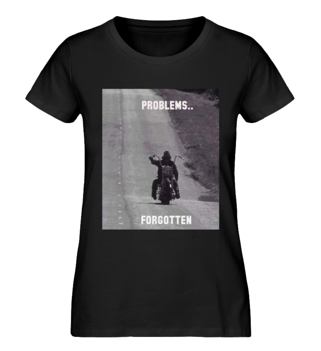 SpreeRocker - PROBLEMS...FORGOTTEN - Damen Premium Organic Shirt-16