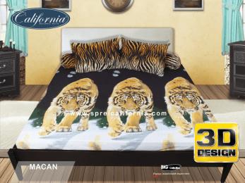 sprei california macan