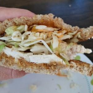 Sweet Thai with Curried Peach Jam Sandwich