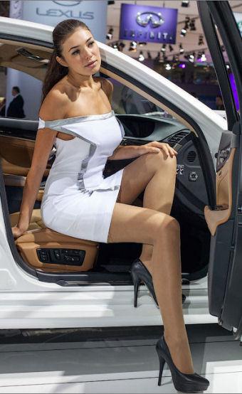 Salon auto Genve 2018 Hotesses sexy salon automobile Geneve 2018 photos