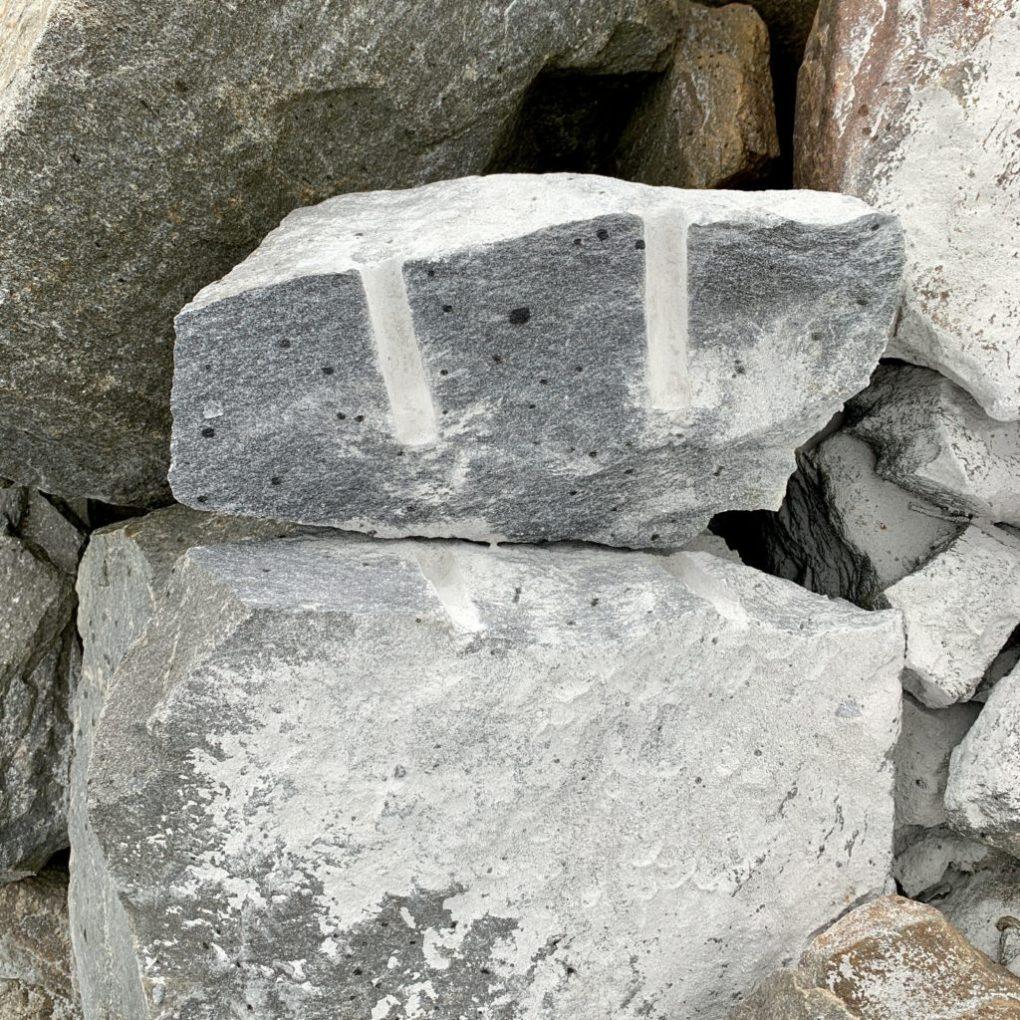 stein fjell sprengkile