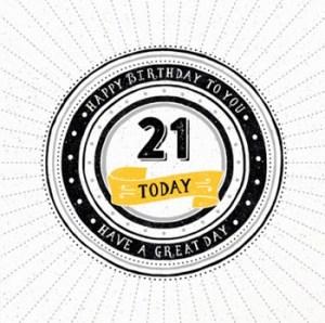 Spreuk 21 jaar