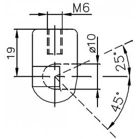 Sprężyna gazowa (FA Krosno 24357) NISSAN Pixo (UA0) klapy