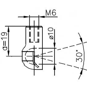 Sprężyna gazowa (FA Krosno 31224) OPEL ASTRA G kabrio