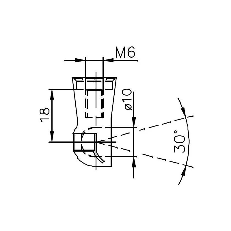 Sprężyna gazowa (FA Krosno 32004) JEEP GRAND CHEROKEE IV