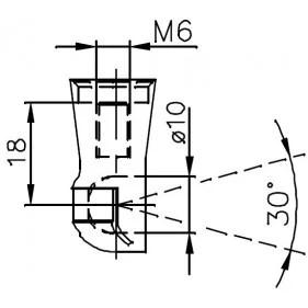 Sprężyna gazowa (FA Krosno 31777) FIAT Barchetta (183