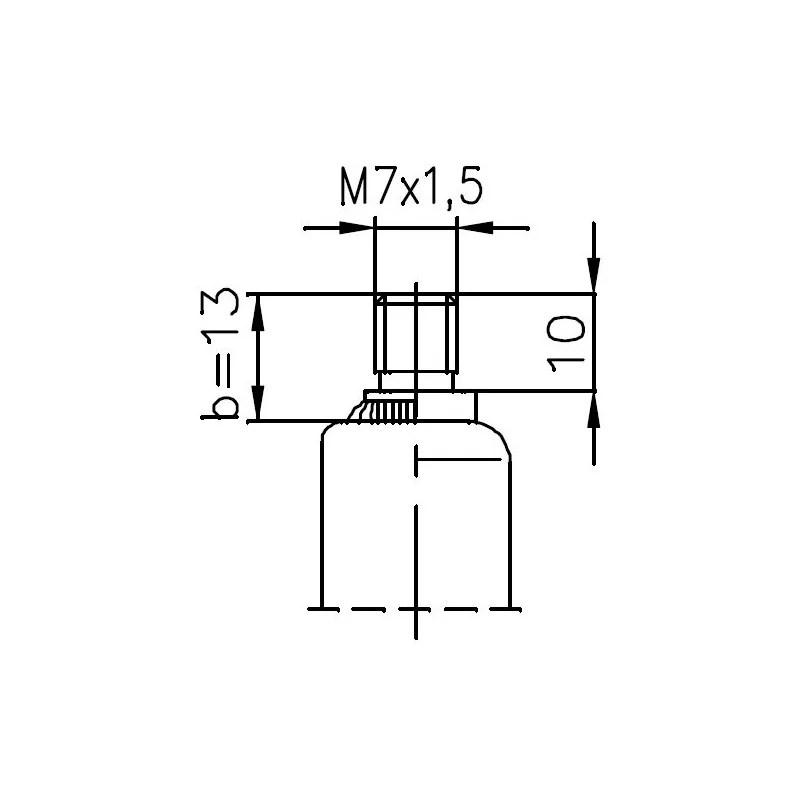 Sprężyna gazowa (FA Krosno 32367) MERCEDES C-Class (W205