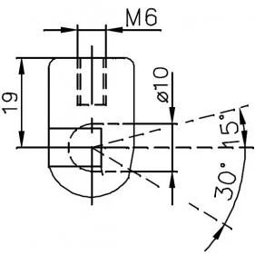 Sprężyna gazowa (FA Krosno 32414) MITSUBISHI Lancer klapy
