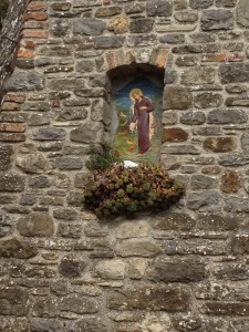 One of the many shrines in Anghiari