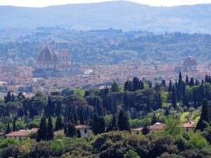 View of Florence from Bencista