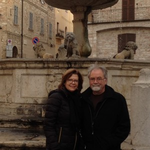 Tim and Julie in Assisi