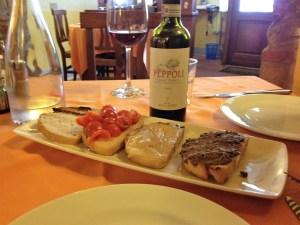 Mixed Tuscan Bruschette
