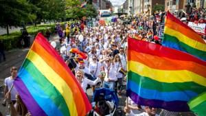 Pride paraden i København 2017