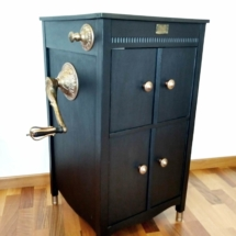 001 Washbasin Gramophone Cabinet by Spring and Gears
