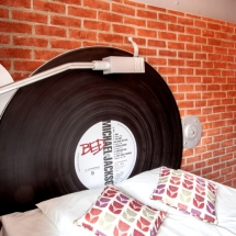 Vinyl Record Wall 04 by Spring and Gears