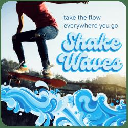 SHAKE WAVE. Take the Flow MMS mock
