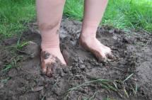 Mud Between My Toes Feet
