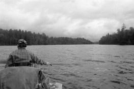 Heidi on Gun Lake, BWCAW
