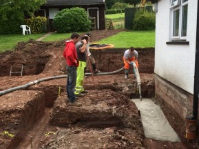 trenches being filled 3