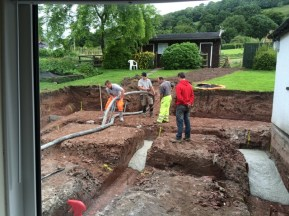 trenches being filled 6