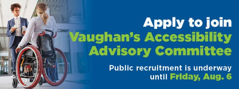 Apply to join Vaughan's Accessibility Advisory Committee