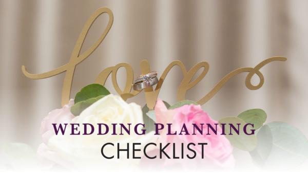 wedding planning checklist start