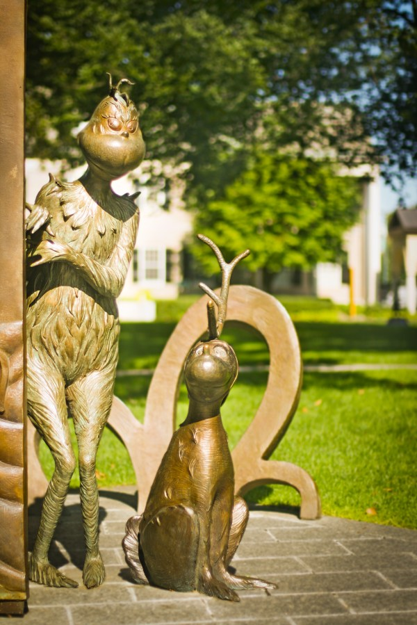 Dr. Seuss National Memorial Sculpture Garden Springfield