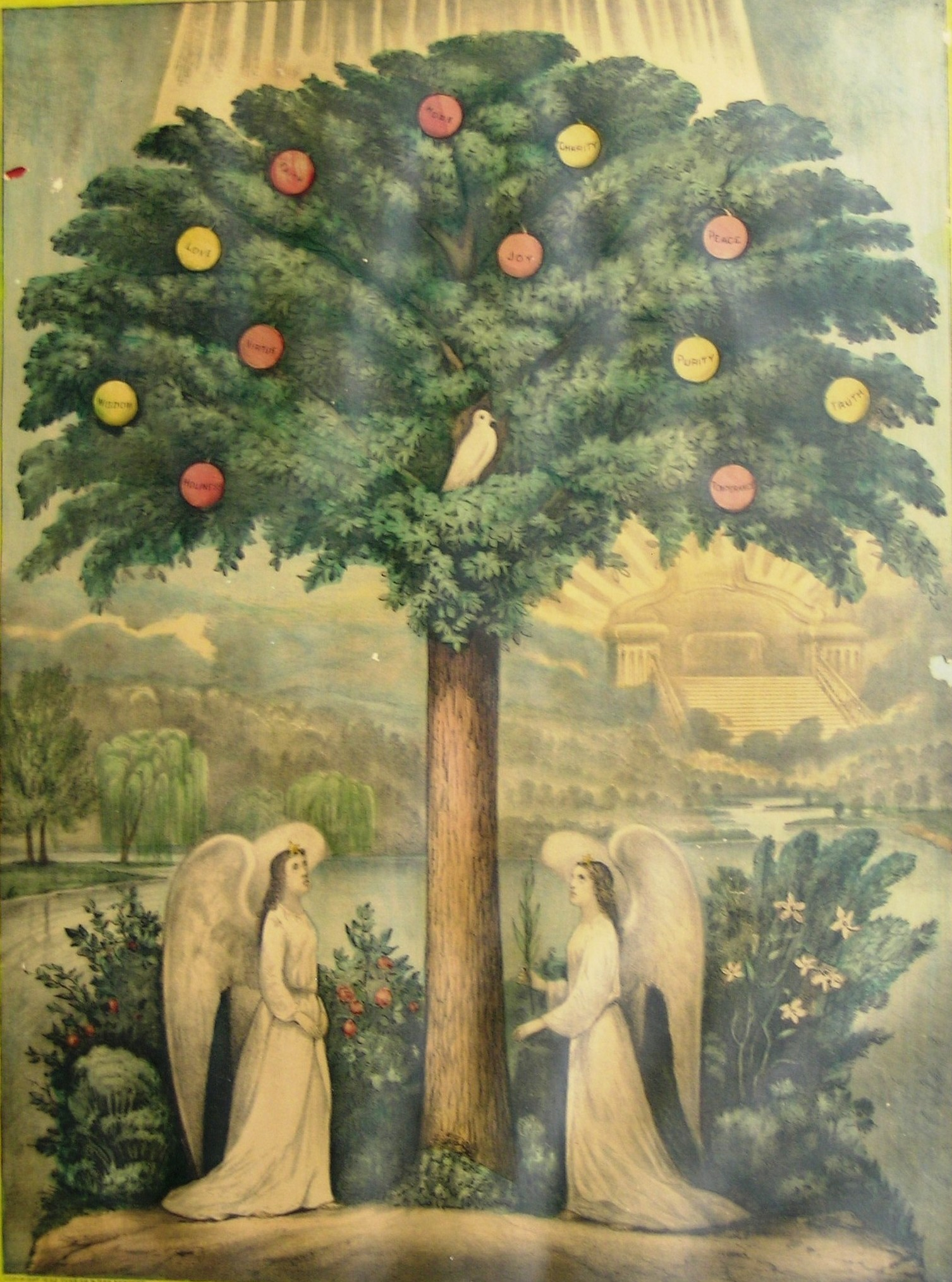 The Tree Of Life Currier Amp Ives